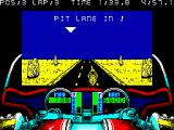 750cc Grand Prix ZX Spectrum Approaching pit lane