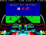 750cc Grand Prix ZX Spectrum Taking gas in pit lane