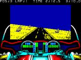 750cc Grand Prix ZX Spectrum Left curve ahead