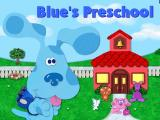 Blue's Clues Preschool Windows Blue's title screen