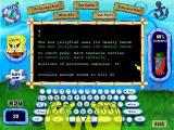 SpongeBob SquarePants: Typing Windows The game tracks your words per minute and shows you a completion gauge.