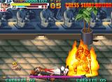 Sengoku 3 Neo Geo Kongoh gets a beating.