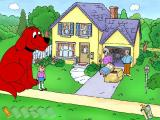 Clifford the Big Red Dog: Reading Windows Helping the neighbors clean up.