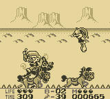 Tiny Toon Adventures 2: Montana's Movie Madness Game Boy First Boss
