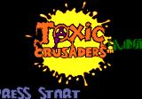 Toxic Crusaders Genesis Level announcement