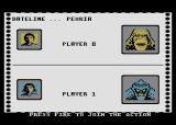 Rampage Atari 8-bit Select character to begin the game