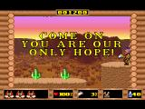 Skunny: In The Wild West DOS The game knows how to motivate you.