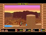 Skunny: In The Wild West DOS ...and use it to reach higher platforms.