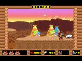 Skunny: In The Wild West DOS One of the sheep