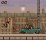 Rocky Rodent SNES Trying to reach Don Garcia's car before sunset.