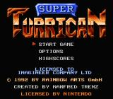 Super Turrican NES Title screen