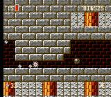 Super Turrican NES The energy wheel can often be used to reach secret areas.