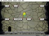 Math Blaster: Episode One - In Search of Spot DOS Cave Runner: the Trash Monster is escaping with Spot. Follow him!