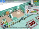 Hospital Tycoon Windows If you click on a staff member, you'll get more information about him.