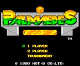 Palamedes MSX Title screen