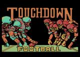 Touchdown Football Atari 8-bit Title screen