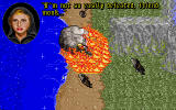 Ultima VII: Part Two - Serpent Isle DOS Two strange monks fighting, we are protected by a firewall