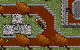 Ultima VII: Part Two - Serpent Isle DOS Having a break at a little fountain