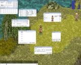 Ragnarök Online Windows Opening all the possible info windows.