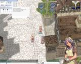 Ragnarök Online Windows Talking to a member of Kafra Corporation, responsible for the keep and teleportation service.