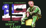 19 Part 1: Boot Camp Commodore 64 Title
