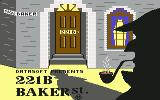 221 B Baker St. Commodore 64 Title
