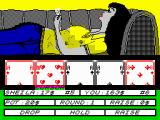 Hollywood Poker ZX Spectrum Only one ace is missing!