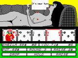 Hollywood Poker ZX Spectrum Looks like my turn now