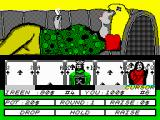 Hollywood Poker ZX Spectrum Lets change two cards
