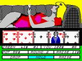Hollywood Poker ZX Spectrum I will hold in this round