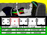 Hollywood Poker ZX Spectrum Almost broke with 14$