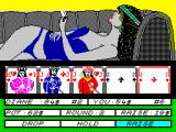 Hollywood Poker ZX Spectrum Should I drop or raise?