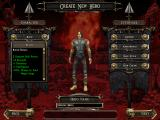Dungeon Siege II Windows Creating your new hero.