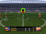 AFL Premiership 2007 PlayStation 2 Centre bounce ruck interface