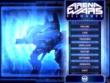 Arena Wars Reloaded Windows Main menu