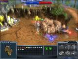 Arena Wars Reloaded Windows A walker uses his special ability and flies towards the enemy base.
