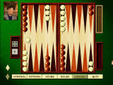 Hoyle Classic Games Windows Start of backgammon game