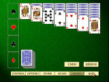 Hoyle Classic Games Windows Start of solitaire game
