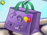 Putt-Putt: Pep's Birthday Surprise Windows This bag shows the items Putt-Putt needs to collect.