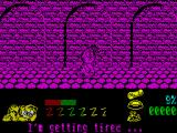 Garfield: Big, Fat, Hairy Deal ZX Spectrum Through the sewer