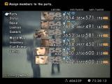 Final Fantasy XII PlayStation 2 Main menu