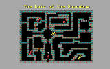 Curse of the Catacombs DOS A full hint guide with maps comes with the game free of charge.