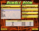 "Freedom Force vs The 3rd Reich Windows ""Rumble Room"" (instant action) config screen"