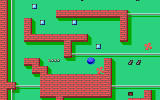 PARAGON DOS You are the happy blue ball, bouncing freely through the maze.