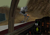 Star Wars: Rogue Squadron 3D Windows Chicken walker from cockpit window