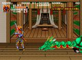 Sengoku Neo Geo Green dragon boss
