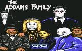The Addams Family Commodore 64 Title