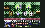 The Addams Family Commodore 64 Traveling on a cauldron