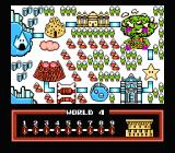Fire 'n Ice NES The world map