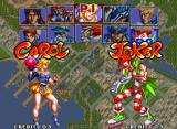 Savage Reign Neo Geo Character selection